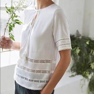 Vetta The Lace Top in White